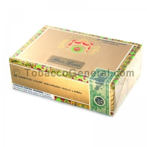 Macanudo Gold Label Hampton Court Cigars Box of 25