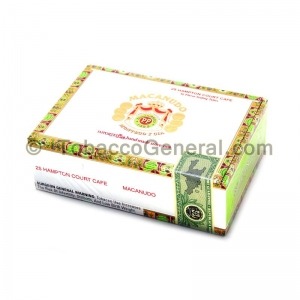 Macanudo Hampton Court Cafe Cigars Box of 25