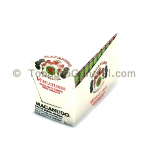Macanudo Miniatures Cigars Pack of 8