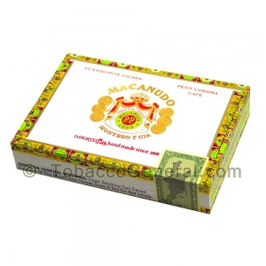 Macanudo Petit Corona Cigars Box of 25