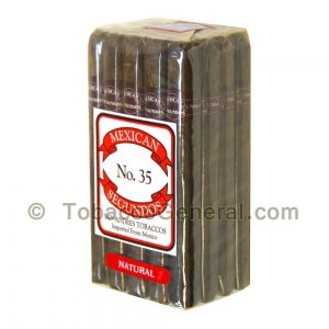 Mexican Segundos No. 35 Natural Cigars Pack of 20