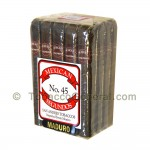 Mexican Segundos No. 45 Maduro Cigars Pack of 20 - Domestic Cigars