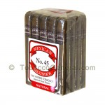 Mexican Segundos No. 45 Natural Cigars Pack of 20