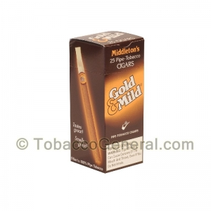 Middleton's Black & Mild Gold & Mild Cigars Box of 25