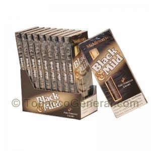 Middletons Black Mild Regular Cigars 10 Packs Of 5