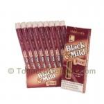 Middleton's Black & Mild Wine Cigars 10 Packs of 5