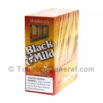 Middleton's Black & Mild Wood Tip Jazz Cigars 10 Packs of 5