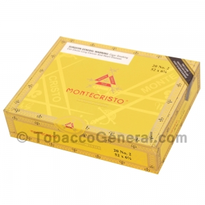 Montecristo Classic Selection No 2 Cigars Box of 20