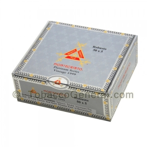 Montecristo Platinum Series Robusto Cigars Box of 27