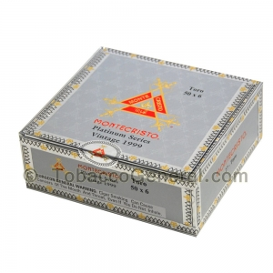 Montecristo Platinum Series Toro Cigars Box of 27