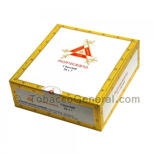 Montecristo White Churchill Cigars Box of 27