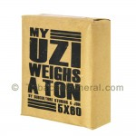 My Uzi Weighs a Ton MUWAT 5 X 60 Cigars Pack