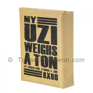 My Uzi Weighs a Ton MUWAT 6 X 60 Cigars Pack of 10