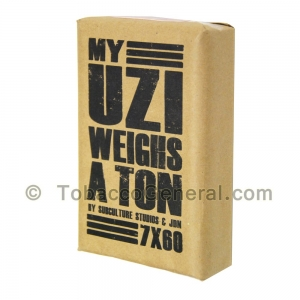 My Uzi Weighs a Ton MUWAT 7 X 60 Cigars Pack of 10