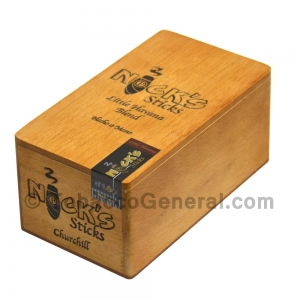 Nick's Sticks Churchill Maduro Cigars Box of 20
