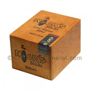 Nick's Sticks Robusto Maduro Cigars Box of 20