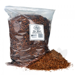 OHM Mint (Menthol) Pipe Tobacco Pack 5 Lb. Pack