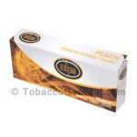 OHM Peach Filtered Cigars 10 Packs of 20 - Filtered and Little