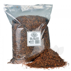 OHM Silver Pipe Tobacco Pack 5 Lb. Pack