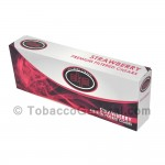 OHM Strawberry Filtered Cigars 10 Packs of 20 - Filtered and Little
