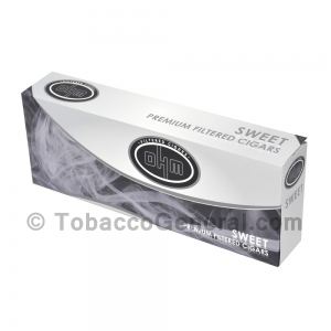 OHM Sweet Filtered Cigars 10 Packs of 20
