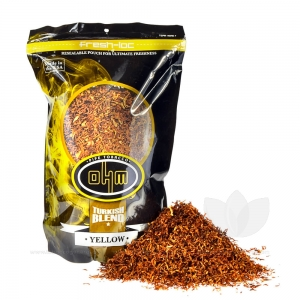OHM Turkish Yellow Pipe Tobacco Pack 8 oz. Pack