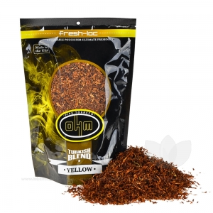 OHM Turkish Yellow Pipe Tobacco 6 oz. Pack