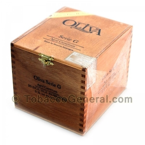 Oliva Serie G Double Robusto Round Cigars Box of 25