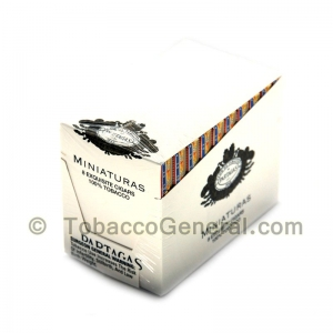 Partagas Miniaturas Exquisite Cigars 10 Packs of 8