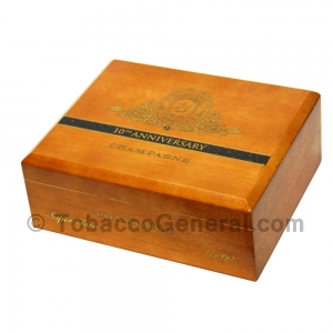 Perdomo 10th Anniversary Super Toro Champagne Cigars Box of 25