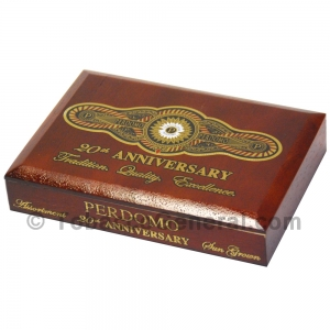 Perdomo 20th Anniversary Sampler Gift Set Sun Grown Cigars Box of 5