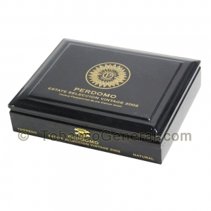 Perdomo Estate Selection Torpedo Natural Cigars Box of 20
