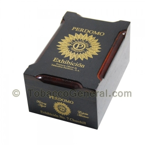 Perdomo Exhibicion No 7 Churchill Maduro Cigars Box of 20