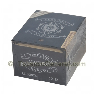Perdomo Habano Robusto Maduro Cigars Box of 20