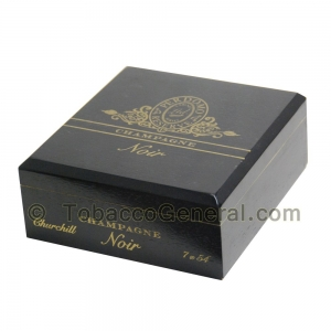 Perdomo Noir Churchill Champagne Cigars Box of 25
