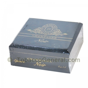 Perdomo Noir Epicure Champagne Cigars Box of 25