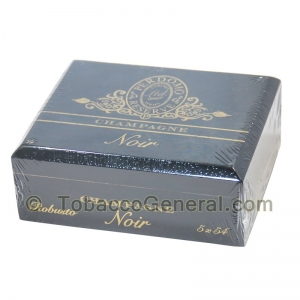 Perdomo Noir Robusto Champagne Cigars Box of 25