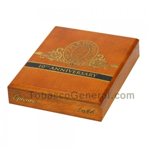 Perdomo Reserve 10th Anniversary Epicure Sampler Gift Set Cigars Box of 6
