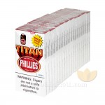 Phillies Blunt Titan White 2 Pack Special Cigars Box of 100