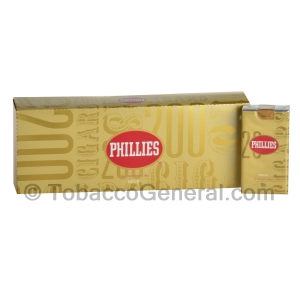 Phillies Gold Filtered Cigars 10 Packs of 20