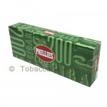 Phillies Menthol Filtered Cigars 10 Packs of 20 - Filtered and Little
