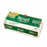 Premier Filter Tubes 100 mm Menthol 5 Cartons of 200 - All