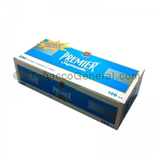 Premier Filter Tubes 100 mm Light 5 Cartons of 200