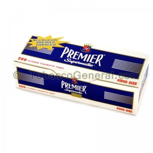 Premier Filter Tubes King Size Full Flavor 5 Cartons of 200