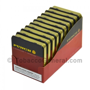 Punch Cigarillos Cigars 10 Tins of 20