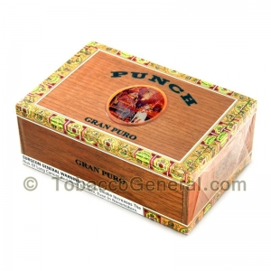 Punch Gran Puro Santa Rita Cigars Box of 25