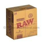 RAW Organic Connoisseur Papers With Tips King Size Slim Pack of