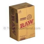 RAW Organic Connoisseur Papers With Tips 1 1/4 Pack of 24