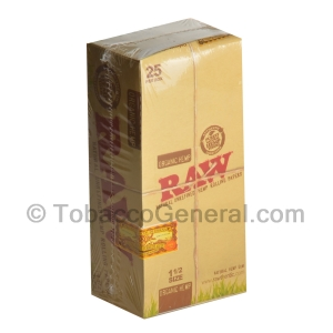 RAW Organic Hemp Papers 1 1/2 Pack of 25