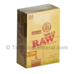RAW Organic Hemp Rolls 15 Feet Pack of 24 - Rolling Papers
